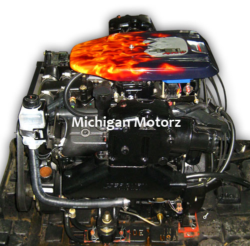 MerCruiser, 4.3L, 4 bbl - Alpha - Carbureted Complete Engine Package | eBay